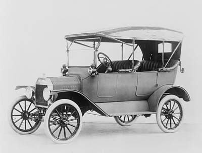 Ford Model T Touring Car.  Model Ts Poster by Everett