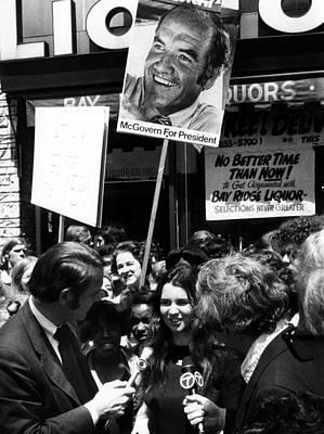 Foreground Center Kathleen Kennedy Poster