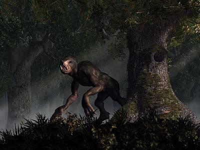 Forest Creeper Poster by Daniel Eskridge