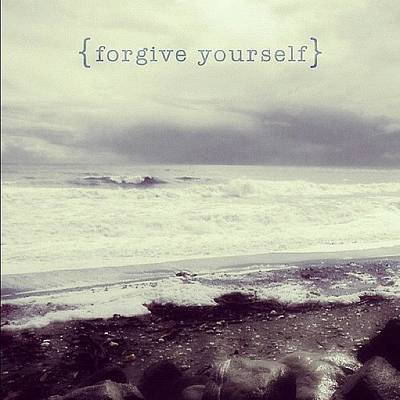 Forgive Yourself. By Fernanda Fontenelle Poster
