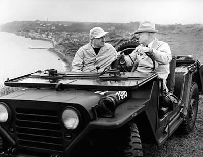 Former President Eisenhower With Walter Poster by Everett