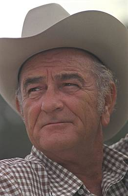 Former President Lyndon Johnson. Lbj Poster by Everett