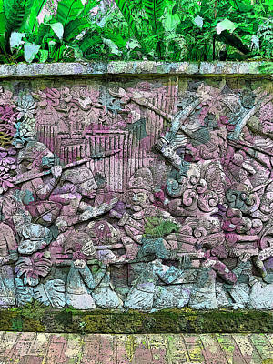 Fort Canning's Mural Wall Poster by Steve Taylor