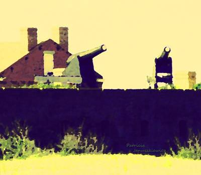 Fort Clinch Poster by Patricia Januszkiewicz