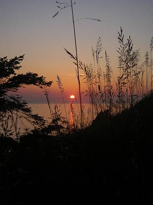 Fort Ebey Sunset Poster