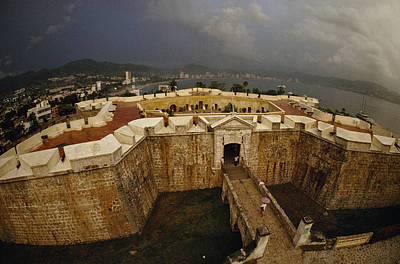 Fort San Diego Warded Off Pirates Poster