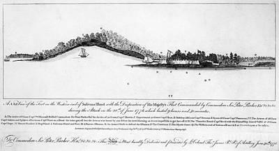 Fort Sullivan, 1776 Poster by Granger