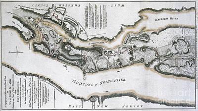 Fort Washington Attacks, 1776 Poster
