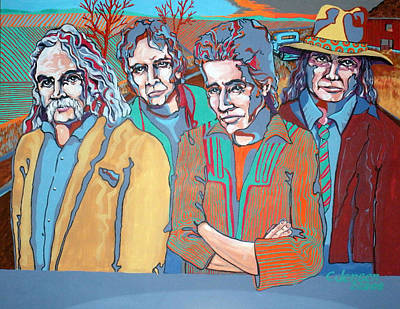 Four Of A Kind Poster by Chuck Jensen