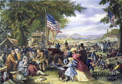 Fourth Of July, 1875 Poster by Granger