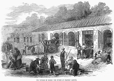 France: Winemaking, 1871 Poster by Granger