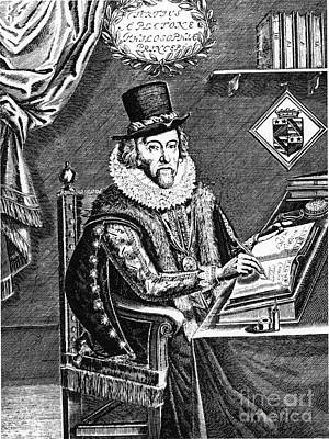Francis Bacon, English Polymath Poster by Science Source