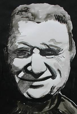 Francis Bacon Study Poster by Gerard Dillon