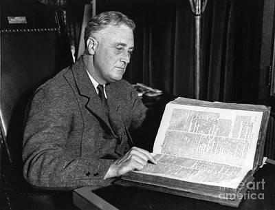 Franklin D. Roosevelt, 32nd American Poster