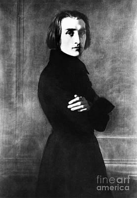 Franz Liszt, Hungarian Composer Poster
