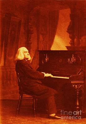 Franz Liszt Poster by Pg Reproductions