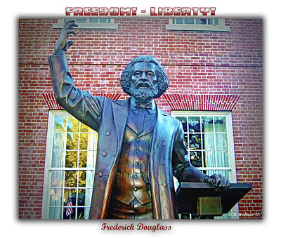 Frederick Douglass Poster by Brian Wallace