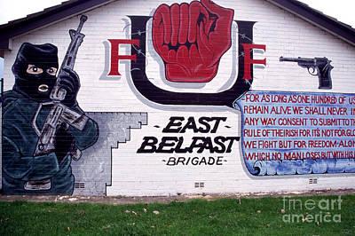 Freedom Corner Mural Belfast Poster