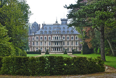 French Country Mansion Poster