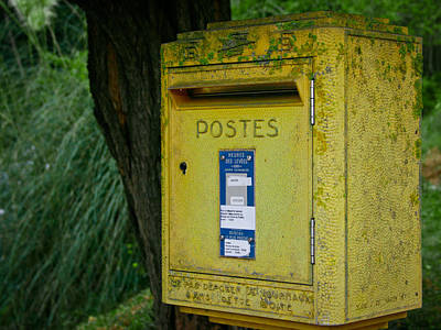 French Mailbox Poster