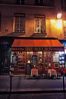 French Restaurant Poster by Benjamin Matthijs