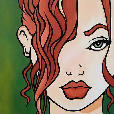 Fresh - Abstract Pop Art By Fidostudio Poster by Tom Fedro - Fidostudio