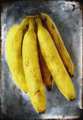 Fresh Bananas Poster by Skip Nall