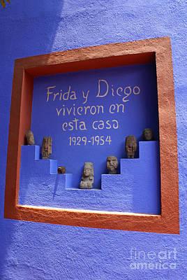 Frida Kahlo Museum Mexico City Poster