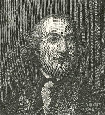 Friedrich Wilhelm Von Steuben Poster by Photo Researchers
