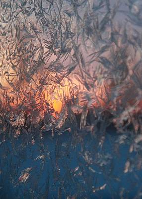 Frosty Sunrise Poster by Ellery Russell