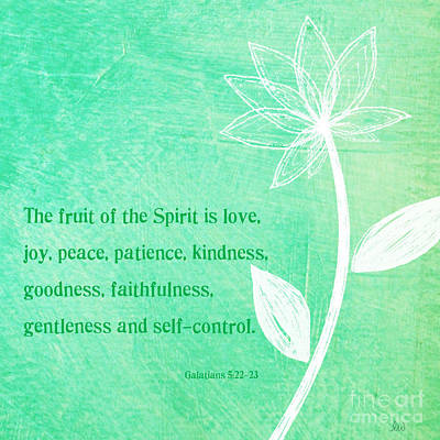 Fruit Of The Spirit Poster by Linda Woods