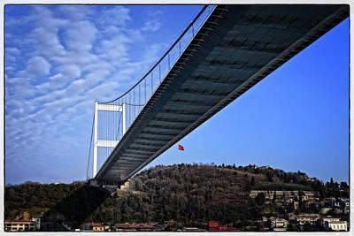 Fsm Bridge Poster by Joan Carroll