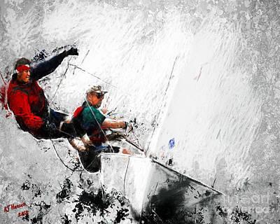 Full Sail Poster by Arne Hansen