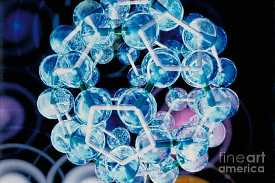 Fullerene Molecule Of Carbon Poster