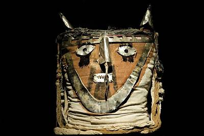 Funerary Bundle Head, Chancay Imperial Poster