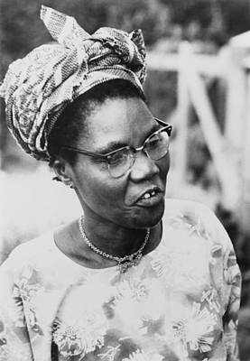 Funmilayo Ransome-kuti 1900-1978 Poster by Everett