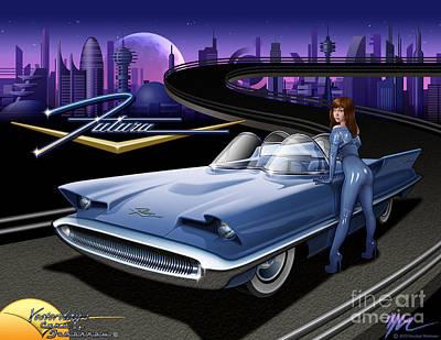 Futura Poster by Marshall Robinson