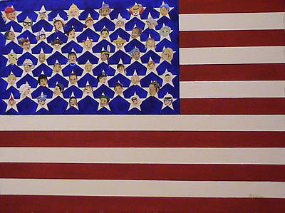 Future Stars Of The United States Of America Poster by DJ Bates
