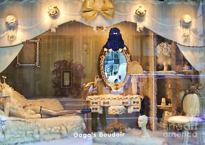 Gaga's Boudoir I Poster by Chuck Kuhn