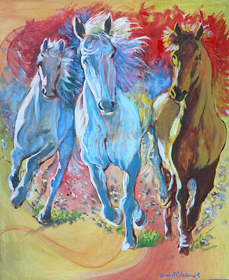 Galloping On Poster