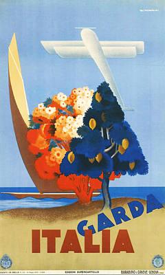 Garda Italy Poster