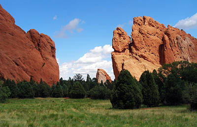 Poster featuring the photograph Garden Of The Gods by David Pantuso
