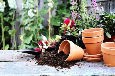 Gardening Poster by Stephanie Frey