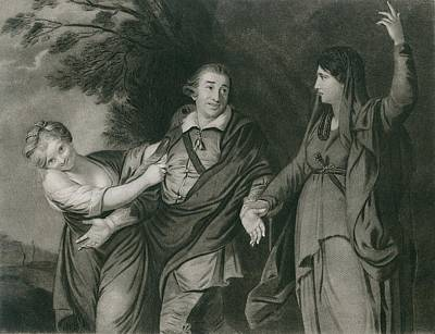 Garrick Between Tragedy And Comedy Poster
