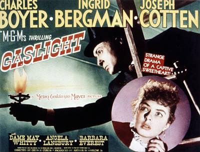 Gaslight, Charles Boyer, Ingrid Poster
