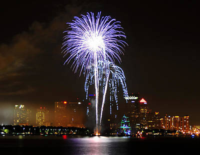 Gasparilla Fireworks Poster