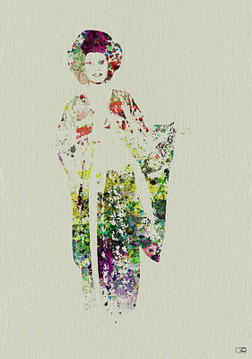 Geisha Poster by Naxart Studio