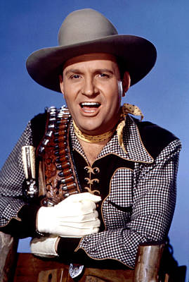 Gene Autry, Circa 1940s Poster by Everett