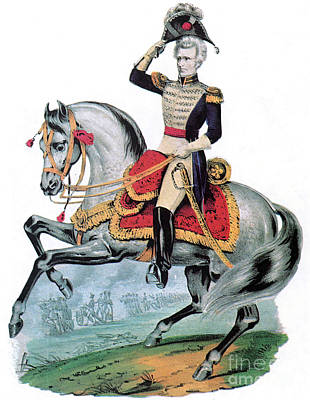 General Andrew Jackson, Hero Of New Poster by Photo Researchers