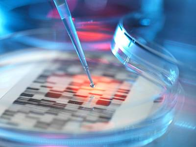 Genetic Research, Conceptual Image Poster